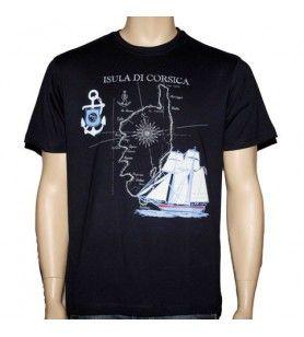 Tee-Shirt isula di Corsica
