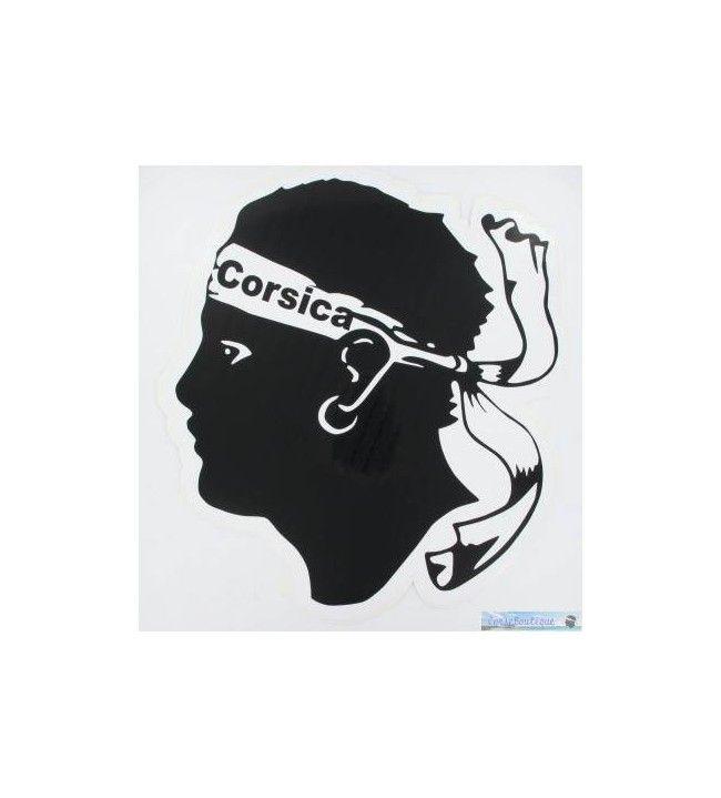 Sticker Moorish head big 23x21 cm