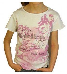 Camiseta de niño de color Rosa  - 1