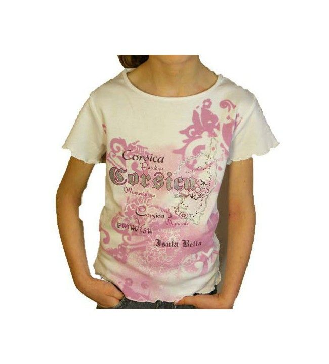 T-Shirt Kinder rosa  - 1