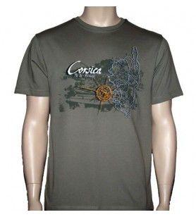 T-Shirt, insel der schönheit F. M