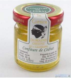 Marmellata di cedro 55 gr Orsini