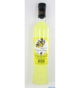 Liqueur de citron jaune Limoncello 35 cl Orsini  - Liqueur de citron jaune Limoncello 35 cl Orsini