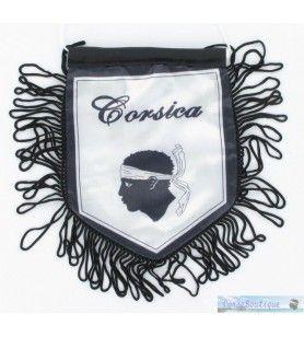 Flagge Korsika - Banner für die klassische Weiße Corsica 12X9 Cm