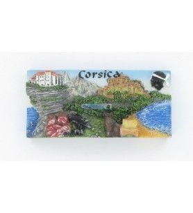 Magnet multi-vues Corsica