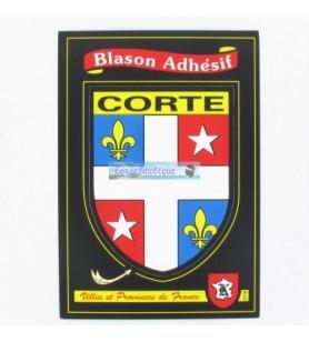 Aufkleber Wappen Corte