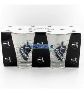 Glas Koffie Corsica Vak X2