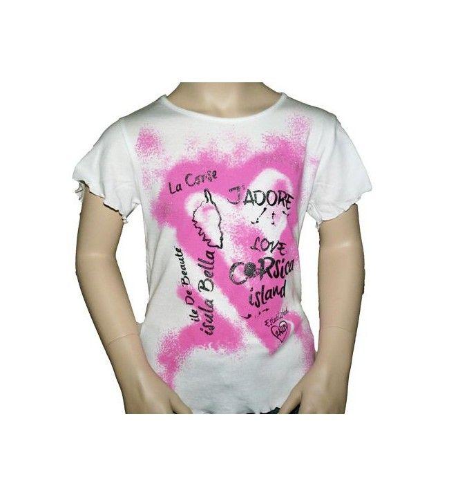 T-shirt Frise Frans Corsica
