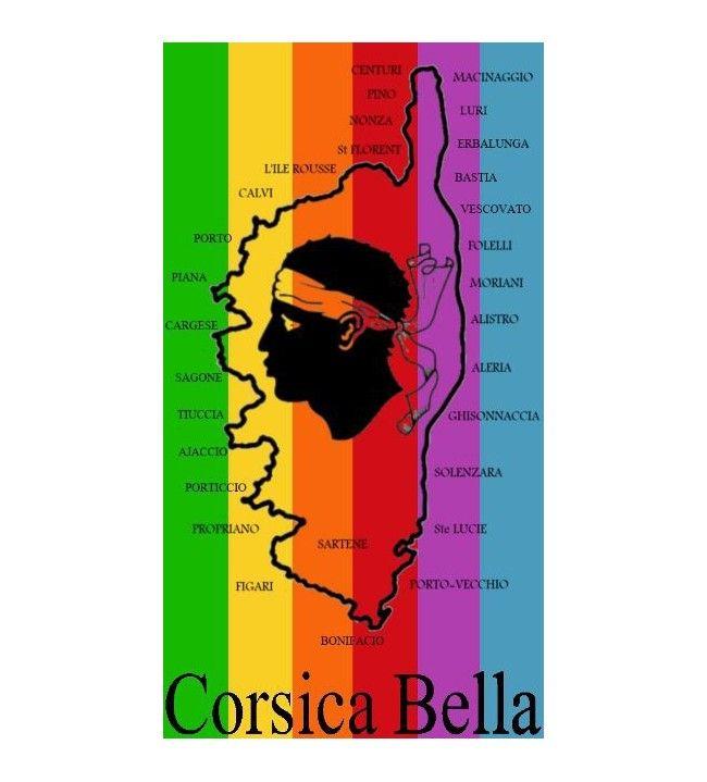 Serviette Bella 95x175 cm