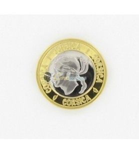Golden island and Moorish head collector coin