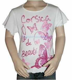 T-Shirt painting Corsica child