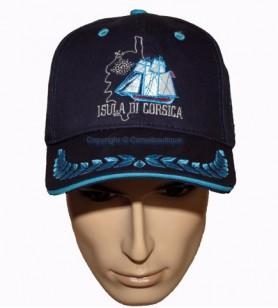Embroidered cap isula di corsica