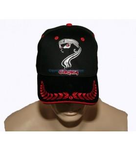Eye-embroidered children's cap