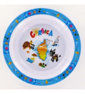 A plate of baby hollow decor Corsica