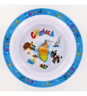 Un plato de bebé hueco decoración de Córcega