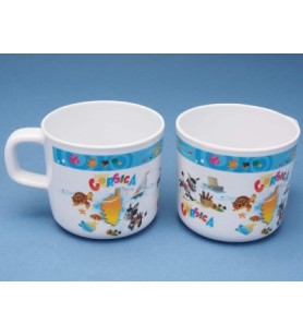 Cup child decor Corsica