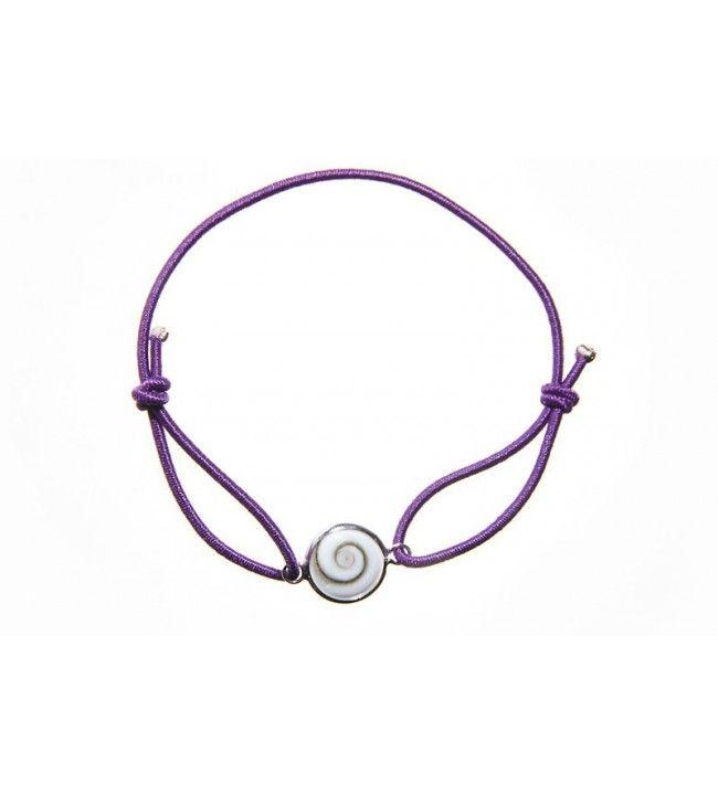 polsband elastisch koord en in het oog van de heilige lucie set zilver  - 10