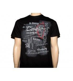 T-Shirt ombra del testo