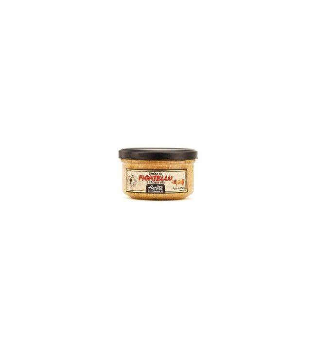 Terrine de Figatelli à l eau de vie 95 Gr