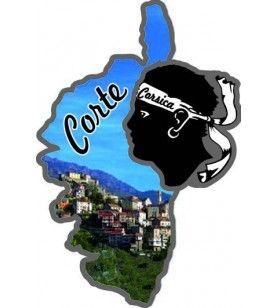 Magnet Corsica Card Eye St Lucia