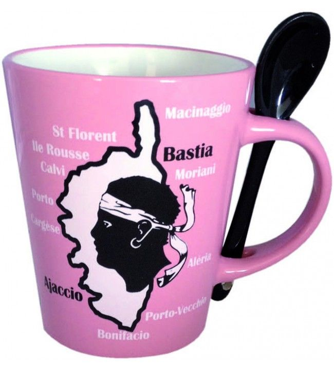 Coffret de 2 mugs avec cuillère