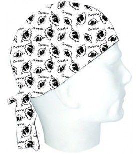 Corsair Kopf und Karte TEXTISUN - Korsar mit maurischem Kopf und korsischer Karte