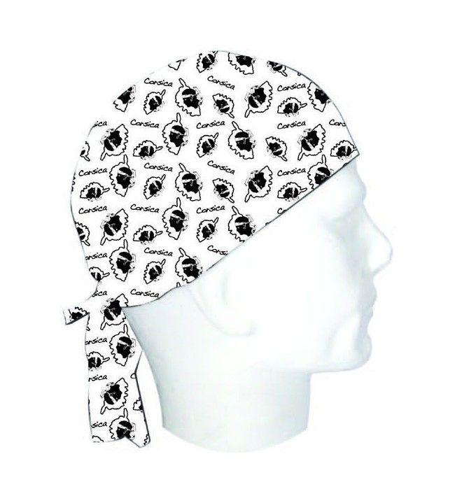 Korsischer Kopf und Karte Freibeuter