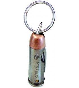 Porte clés balle de pistolet  - Porte clés balle de pistolet