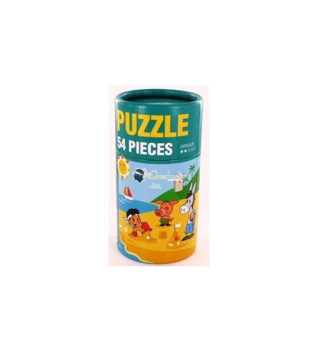 Puzzle Plage et enfant