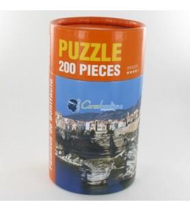 Puzzel kliffen van Bonifacio
