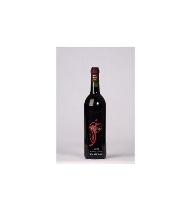 Vin rouge Sciaccarellu Niellucciu Domaine ORSINI