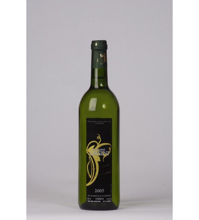 Vin blanc Vermentinu D.ORSINI 75 cl