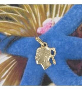 Hanger hoofd van een moorse Gold-plated