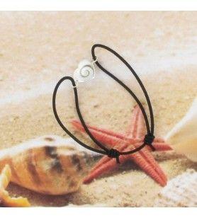 Bracelet oeil de St Lucie argent 73D