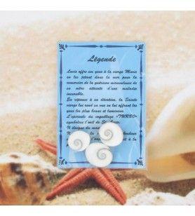 Carta de la leyenda con los 3 ojos de santa lucie  - Tarjeta de leyenda con 3 ojos de Santa Lucía