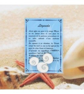 Legend card with 3 eyes of saint lucie  - Legend card with 3 eyes of Saint Lucia