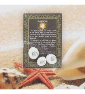 Legend card met 3 ogen van Saint Lucie  - 3