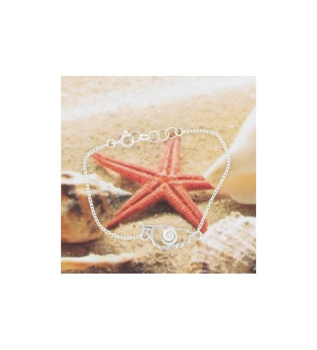 Bracelet Corse Argent 2317