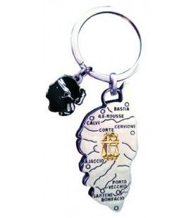Corsica zodiac key ring