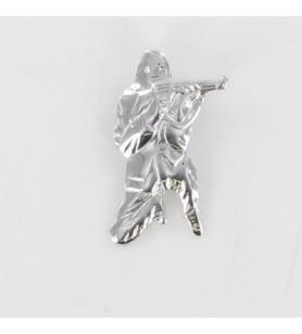 Hanger Ribellu Zilveren Rhodium-Plated