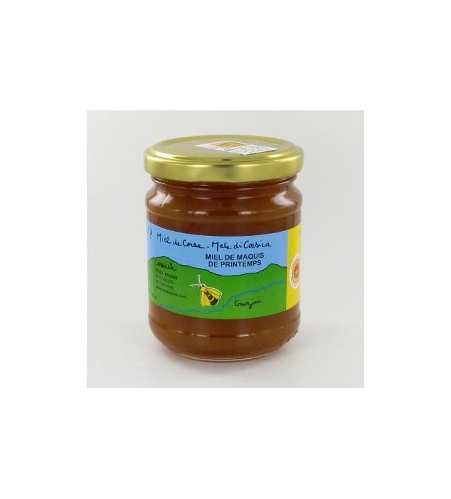 Miel maquis de printemps 250 gr CRUZINI AOC