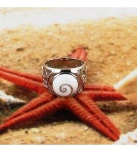 Rundes Auge Saint Lucia Ring