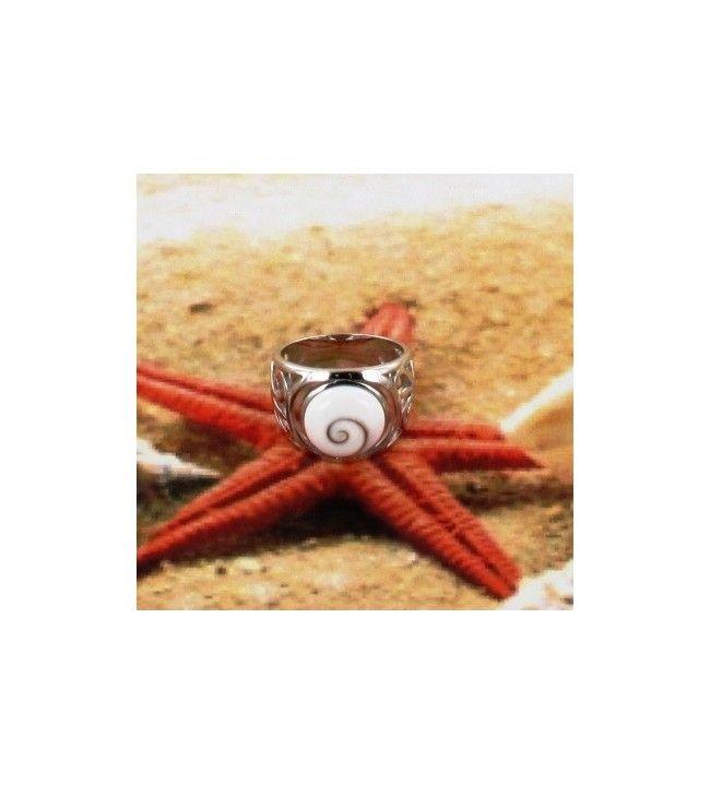 Ring Saint Lucia Eye Silver Rhodium
