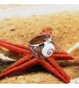 Ring Saint Lucia Eye Zilver Rhodium