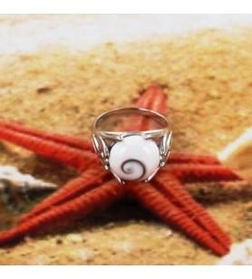 Ring Auge von Sainte Lucie und silber 925
