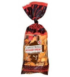 Canistrelli Assortiment 350 gr