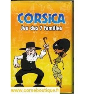 Corsica 7 famiglie gioco DESJOBERT - Corsica 7 famiglie gioco