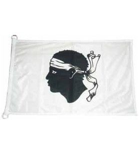 Korsika Flagge 180 X 150 cm  - Korsika Flagge 180 X 150 cm