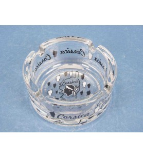 Mini ashtray transparent island corsica