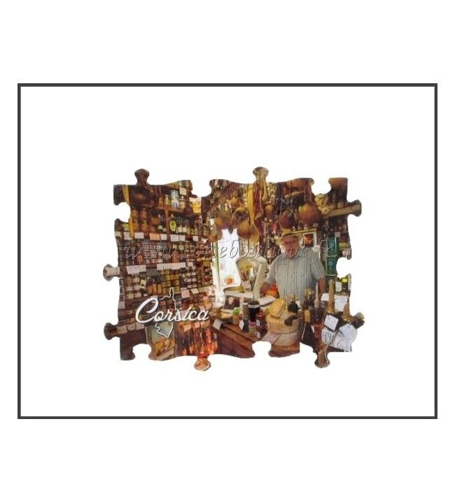 Magnet Puzzle Rectangle magasin Corse
